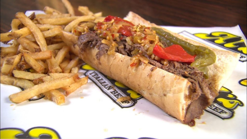 Chicago Italian Beef Sandwich di Al's Italian Beef