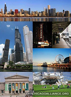 Sejarah singkat Berdirinya Kota Chicago